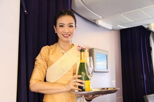 タイ国際航空 キャビンアテンダントさん