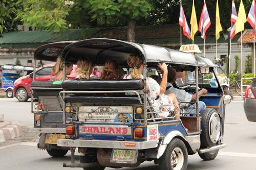 チェンマイの街中