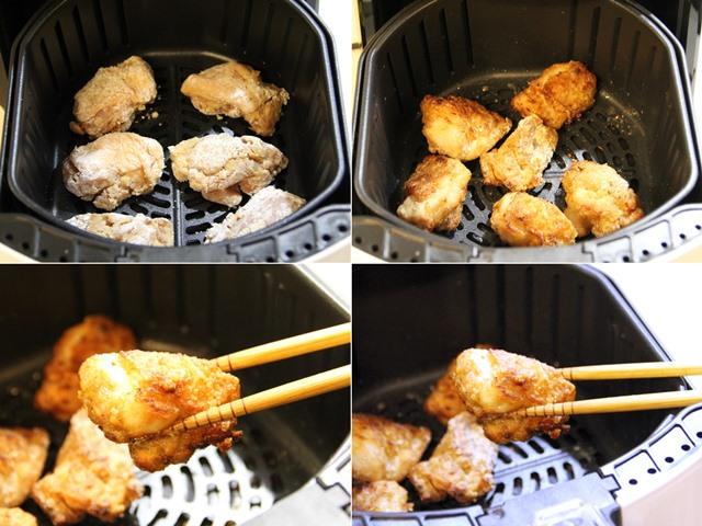 カラーラで鶏のからあげを作る