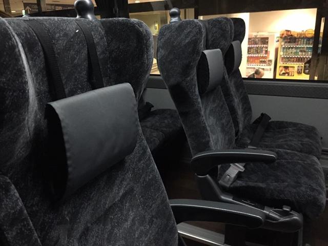 名古屋から金沢行き 高速バス(ハイウェイバス)