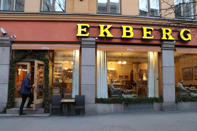 フィンランド ヘルシンキでもっとも古いカフェ Café Ekberg(エクべリ)