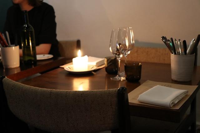 Restaurant Grön 店内風景