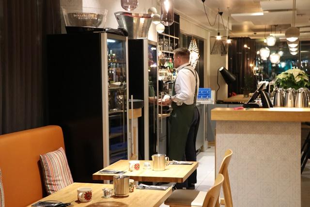 ホテル インディゴ ヘルシンキ Hotel Indigo Helsinki の朝食ブッフェ