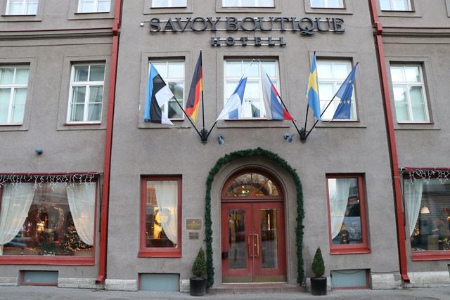 サヴォイ ブティック ホテル Savoy Boutique Hotel 外観