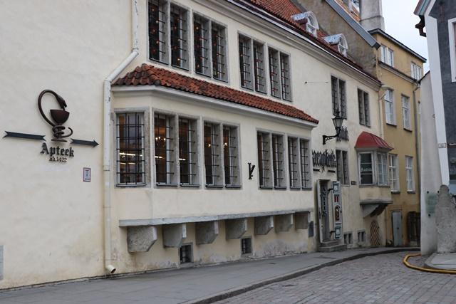 タリン旧市庁舎薬局