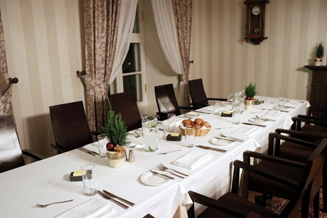 ヴィフラマナーハウス レストラン