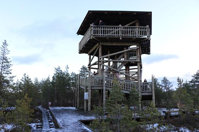 ラヘマー国立公園 ヴィル湿原 展望台