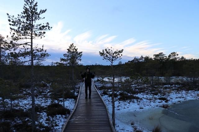 ヴィル湿原にてハイキング
