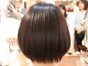 ミネコラ質感矯正後の髪の毛