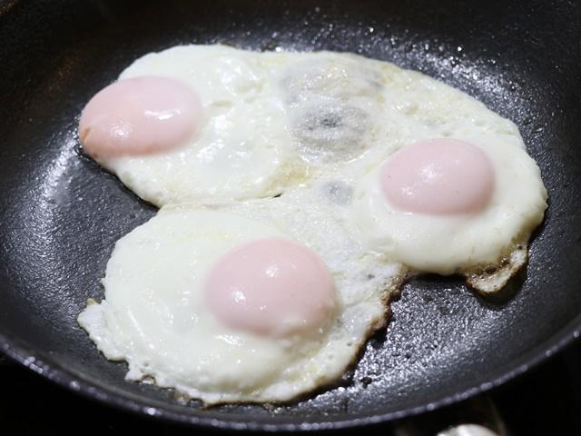 柳宗理 ファイバーライン加工鉄フライパン 目玉焼き