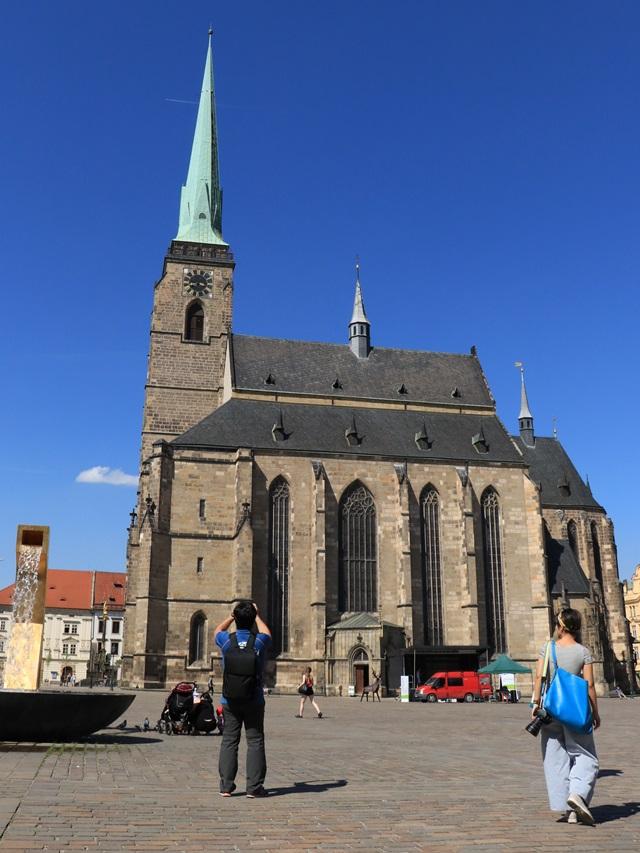 チェコ プルゼニュ 聖バルトロメオ教会