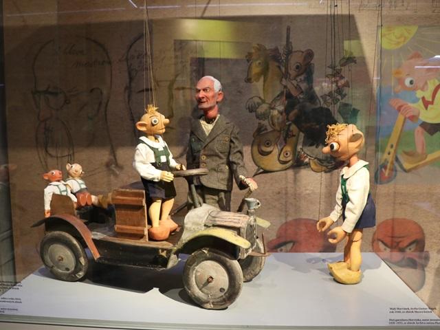 チェコ プルゼニュ 人形博物館 マリオネット博物館