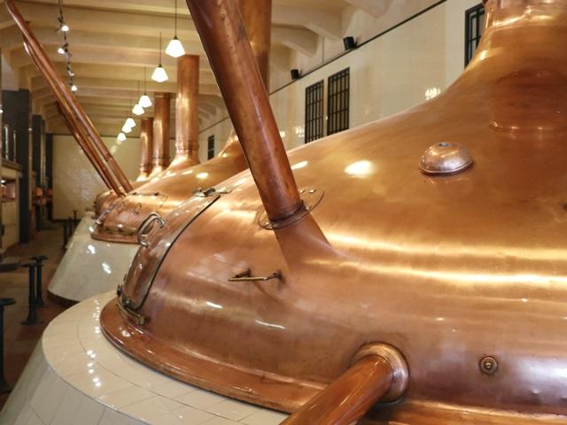 ピルスナーウルケルの醸造所