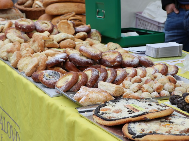 パンを売るブース