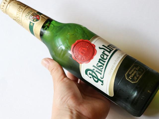 チェコビール ピルスナーウルケル