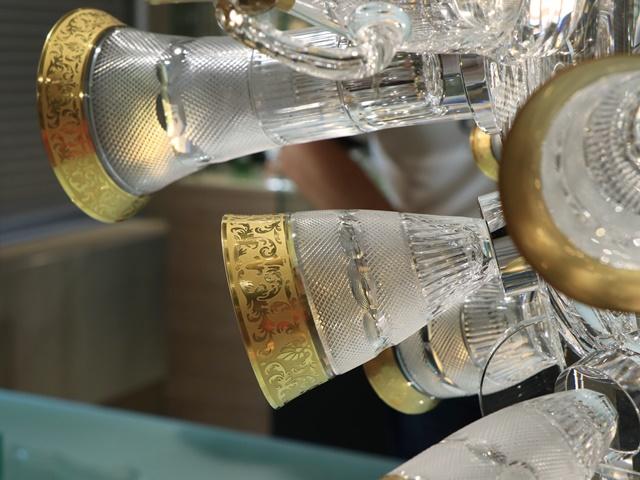 モーゼル クリスタルガラス チェコガラス