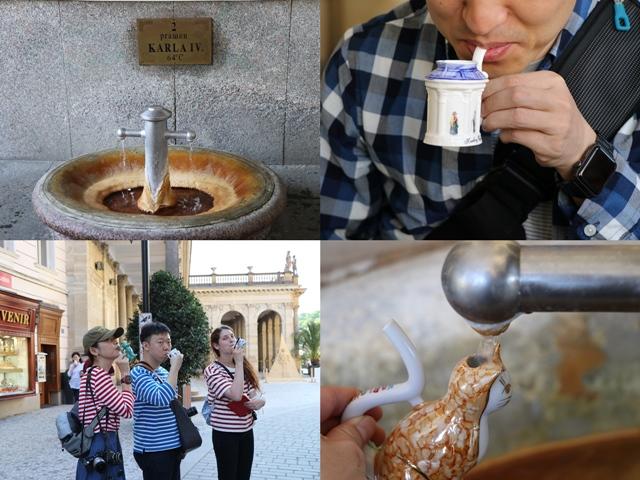 チェコ最大の温泉リゾート地 カルロヴィヴァリを散策 飲泉カップを買って温泉水を飲もう!