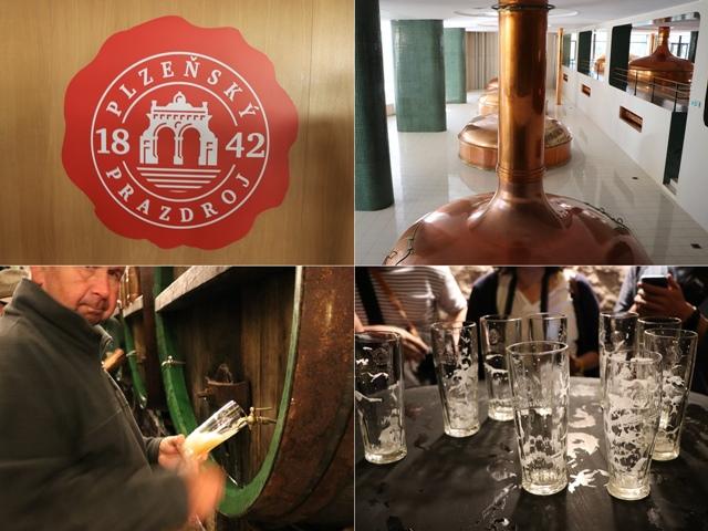 プルゼニュ市へ行くならピルスナー・ウルケルのビール醸造所。無濾過ビールの試飲もできる!