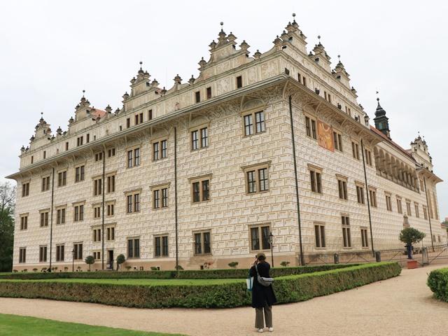 チェコのリトミシュルでユネスコ世界遺産リトミシュル城とベドジフ・スメタナの生家を見学