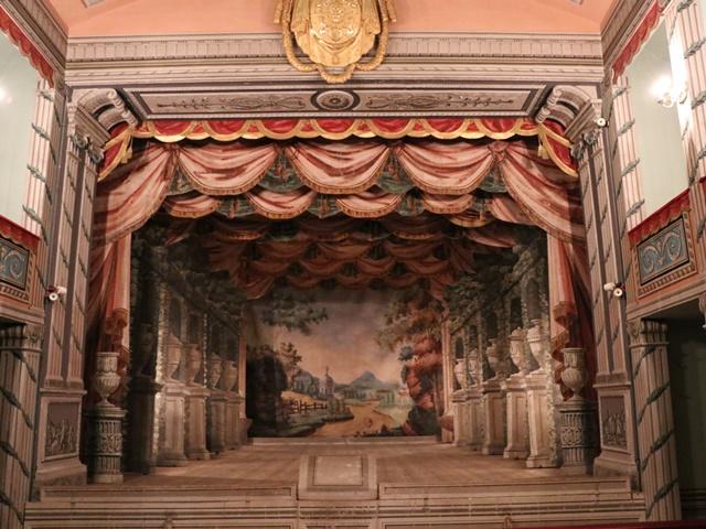 世界遺産リトミシュル城 劇場