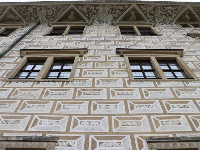 世界遺産リトミシュル城 ズグラフィート
