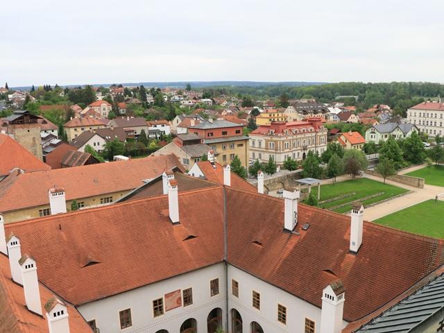 リトミシュル 聖十字架発見教会屋上からの眺め