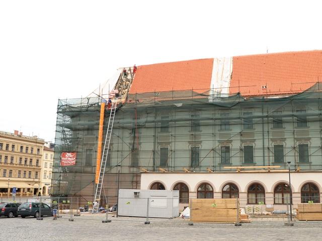 さまざまな建築様式が混在する市庁舎