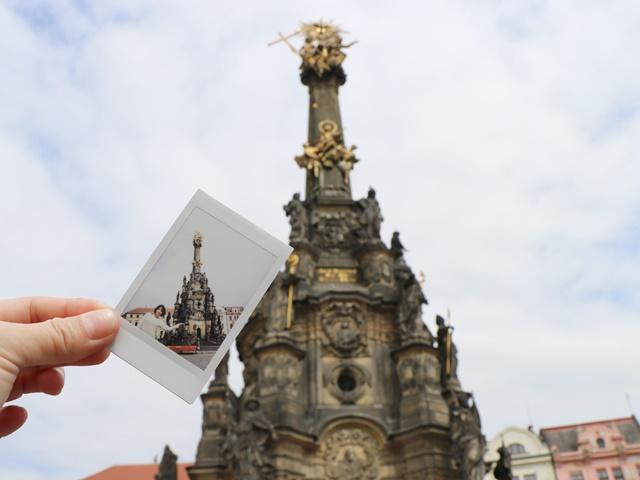 チェコ・オロモウツの世界遺産・聖三位一体柱