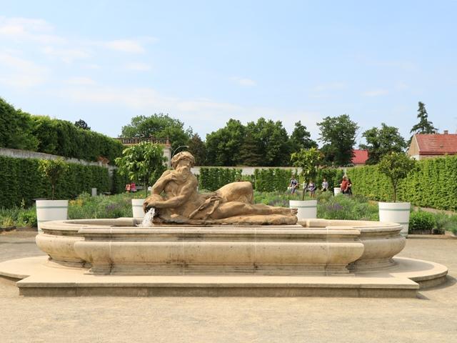 チェコのユネスコ世界遺産 クロムニェジーシュの庭園群