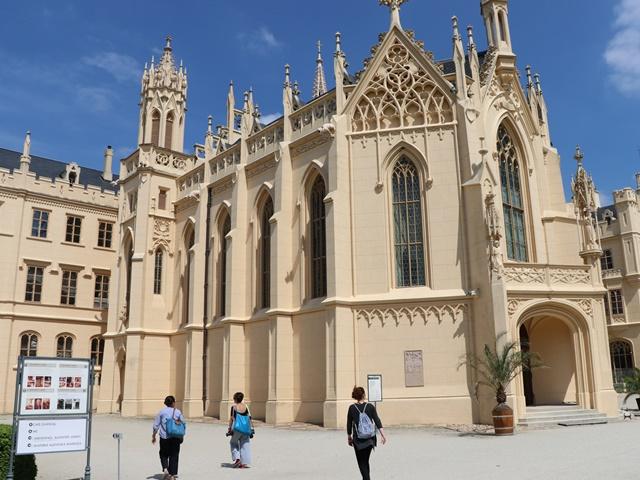 チェコのユネスコ世界遺産 レドニツェ城