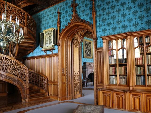 レドニツェ城の図書室