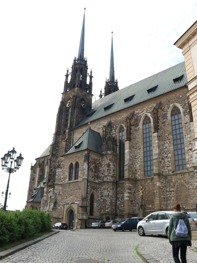 ブルノ 聖ピーター&ポール大聖堂