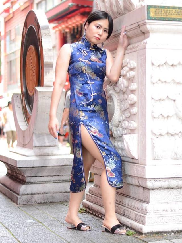 ヒトミさん×チャイナドレス