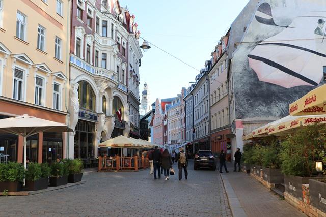 ラトビアの首都リガの旧市街北側