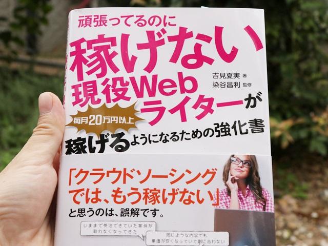頑張ってるのに稼げない現役Webライターが毎月20万円以上稼げるようになるための強化書 感想