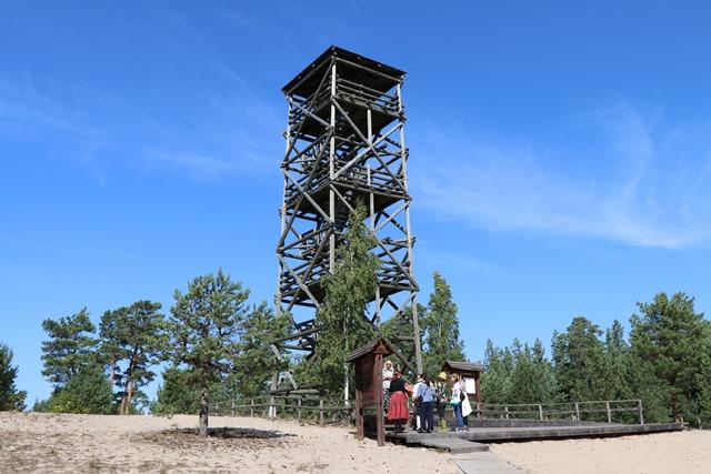 トルクセ湿原(Tolkuse bog)の展望台