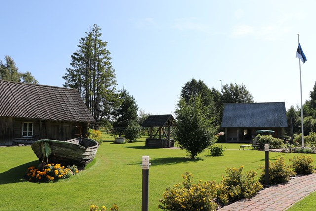 エストニア南西部パルヌ県のヌルカ農場(Nurka Farm)