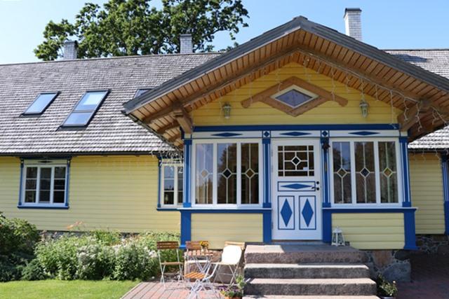 ヌルカファームのメインの建物 Nurka Farm