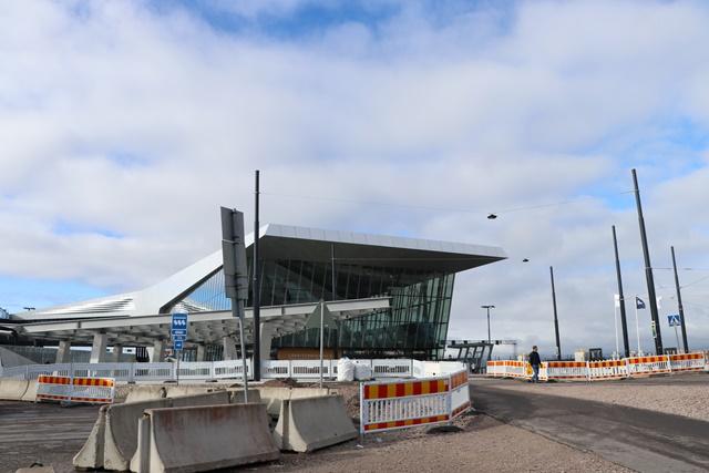 ヘルシンキのターミナル