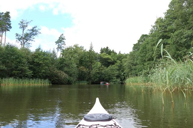 フィンランド シウンティオ川でカヤック体験