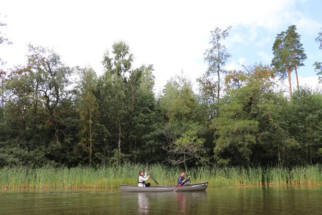 フィンランド シウンティオ川でカヌー