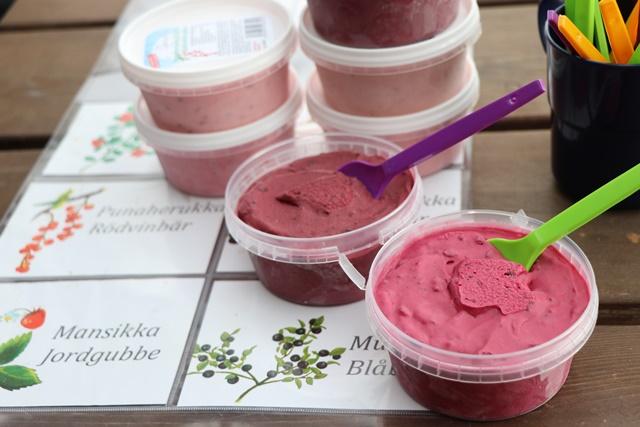 フィンランドのアイスクリーム