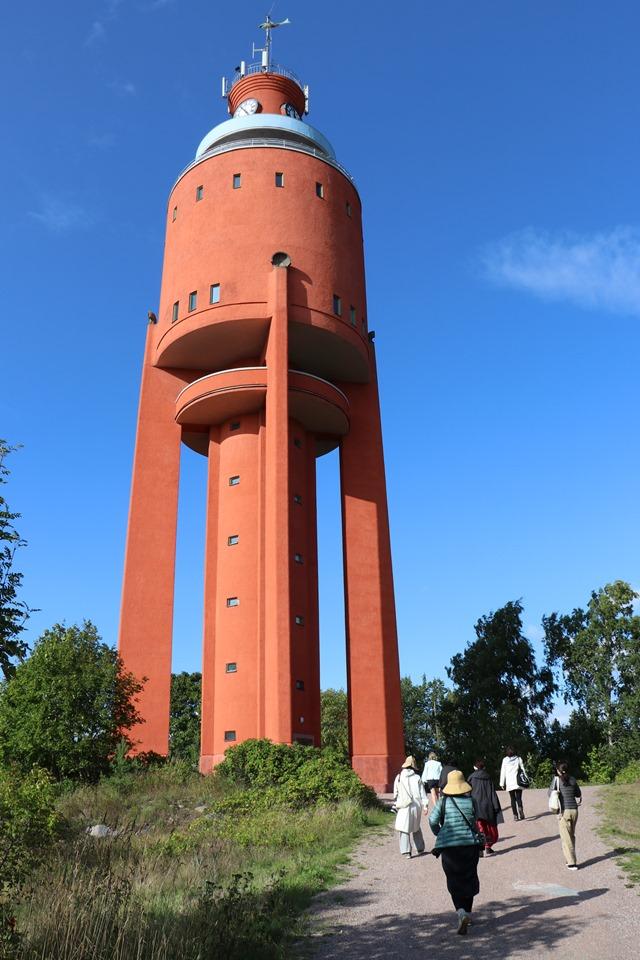 フィンランド・ハンコの給水塔