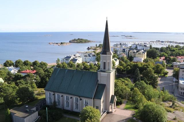 フィンランド最南端のまちハンコ