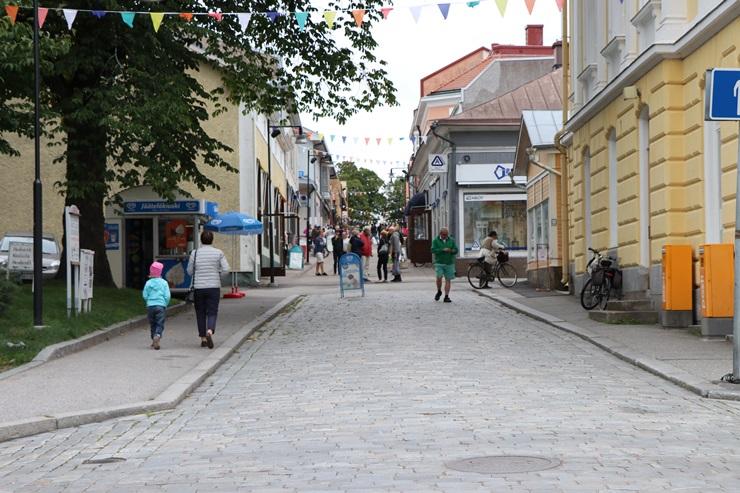 フィンランド南岸部のタンミサーリ旧市街を散策