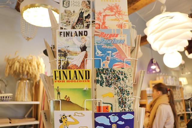フィンランドのポストカード