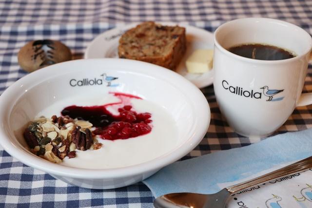 カリオラリゾートの朝食 calliola conference & event center Finland