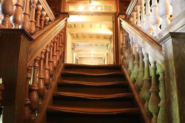 ウングルムイジャ領主館 Ungurmuiža Manor 階段