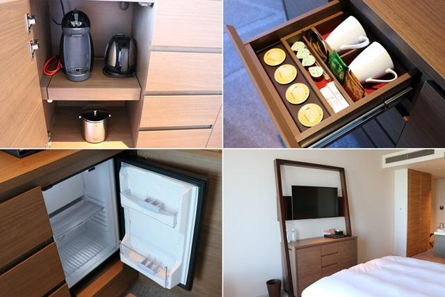 名古屋プリンスホテルスカイタワーの客室備品