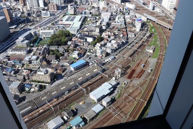名古屋プリンスホテルスカイタワー トレインビュー